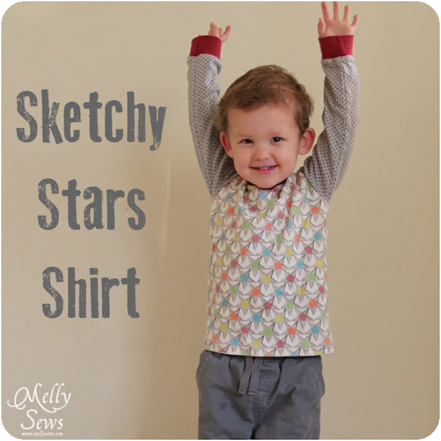 Vintage V Neck (pattern by Blank Slate Patterns) in custom knit - so adorable on this toddler! Melly Sews