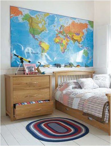 Boys Rooms Mapping It Out Designs Exotic House Interior Designs - Boys room with maps