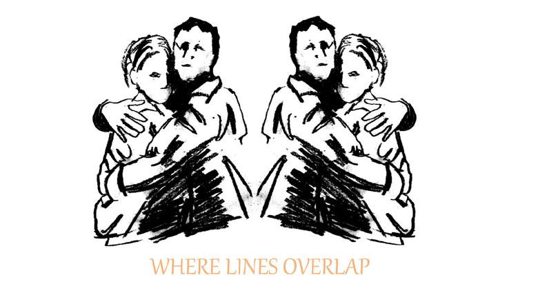 where lines overlap