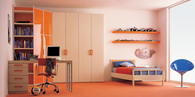 decorating-a-teen-room-with-cream-orange-by-clever