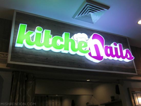 Kitchenails Trinoma opening + Chef Specials Hand Spa