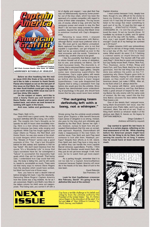 Captain America (1968) Issue #449 #403 - English 22