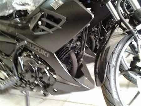 Suzuki Satria F150 Black Predator