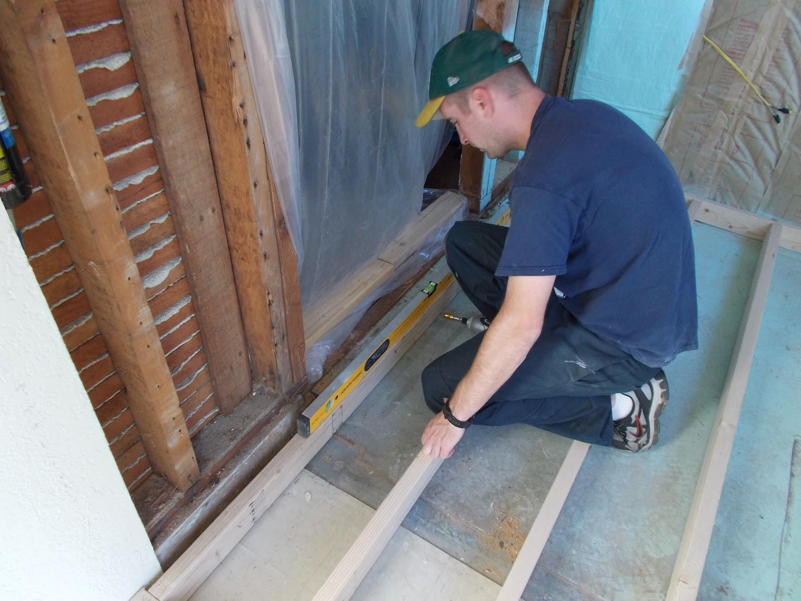 Leveling The Bathroom Floor - Leveling bathroom floor