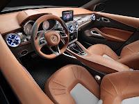 Mercedes-Benz Concept GLA dash
