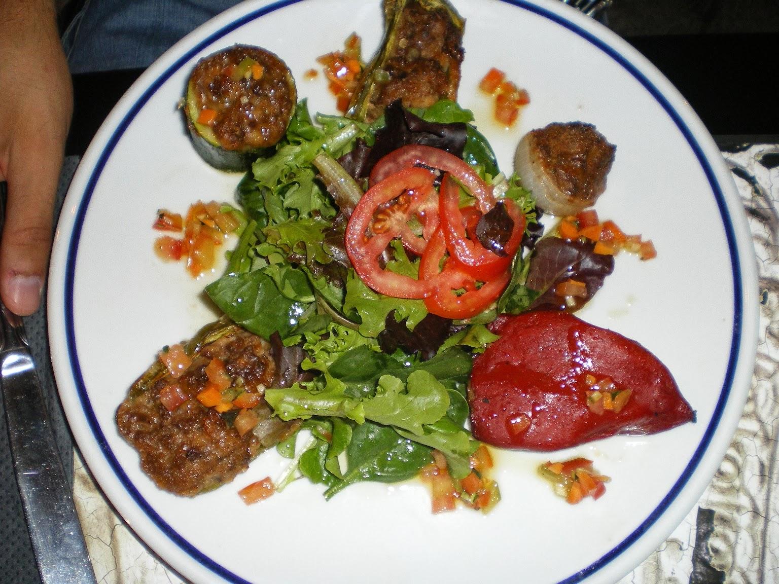 Verdures farcides, un plat típic de Niça
