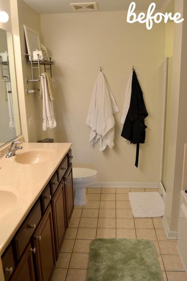 Bathrooms before