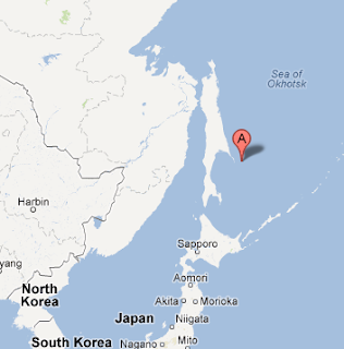 M 7.7 powerful earthquake rocks off northern Japan, near Russia