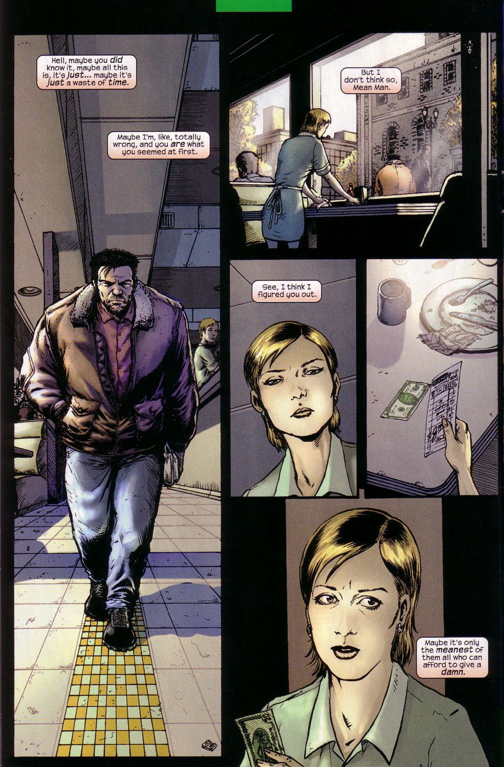Read online Wolverine (2003) comic -  Issue #1 - 7
