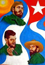 viva Fidel, viva Che Guevara, viva Camilo !!!!