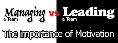 Managing vs Leading a Team.