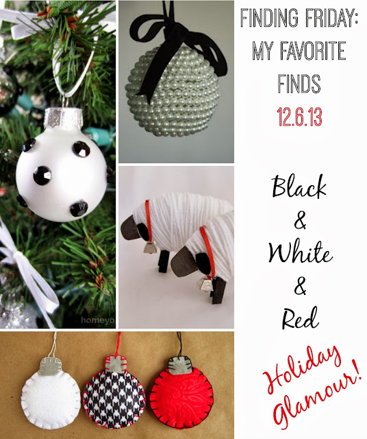 Black & White & Red Holiday Glamour!