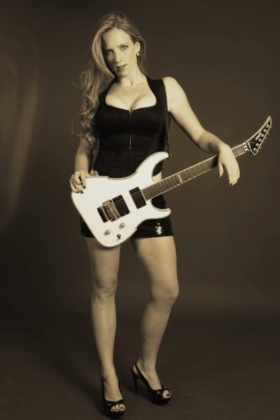 WOMEN OF ROCK - COURTNEY COX - The Iron Maidens