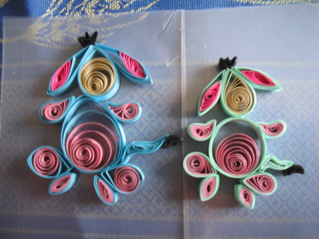 animaux en quilling