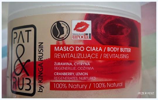 Pat&Rub, Rewitalizujące masło do ciała