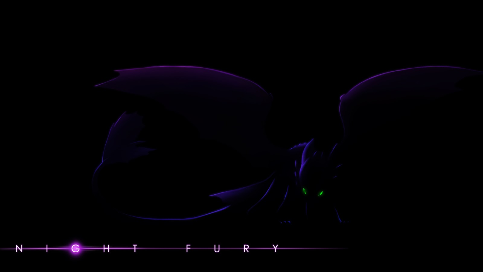 white night fury wallpaper - photo #17
