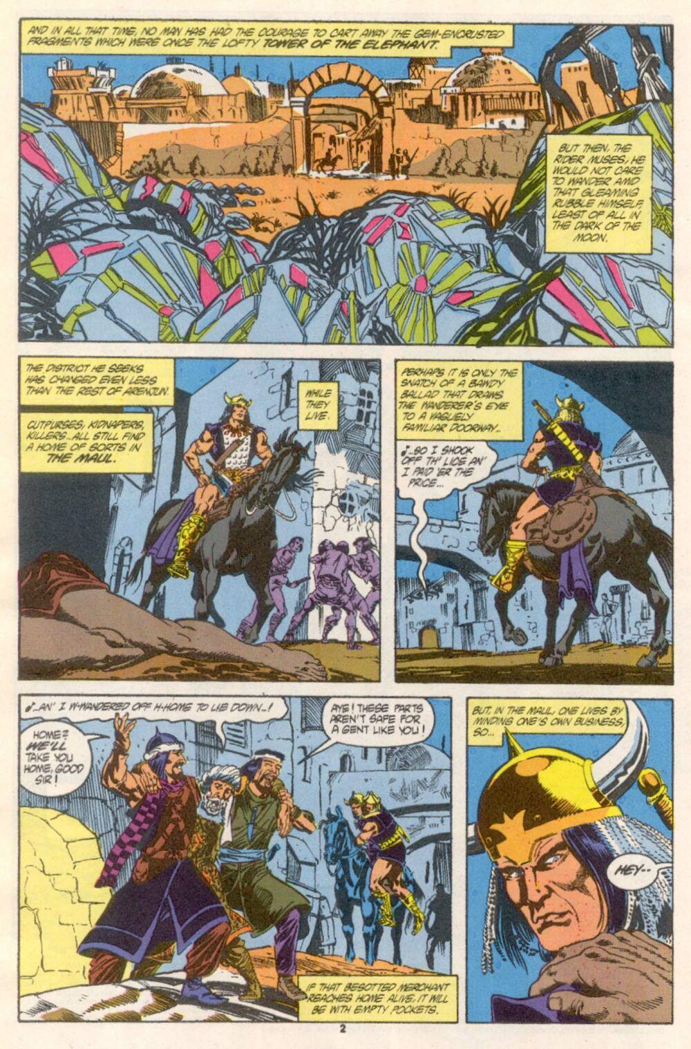 Conan the Barbarian (1970) Issue #241 #253 - English 3