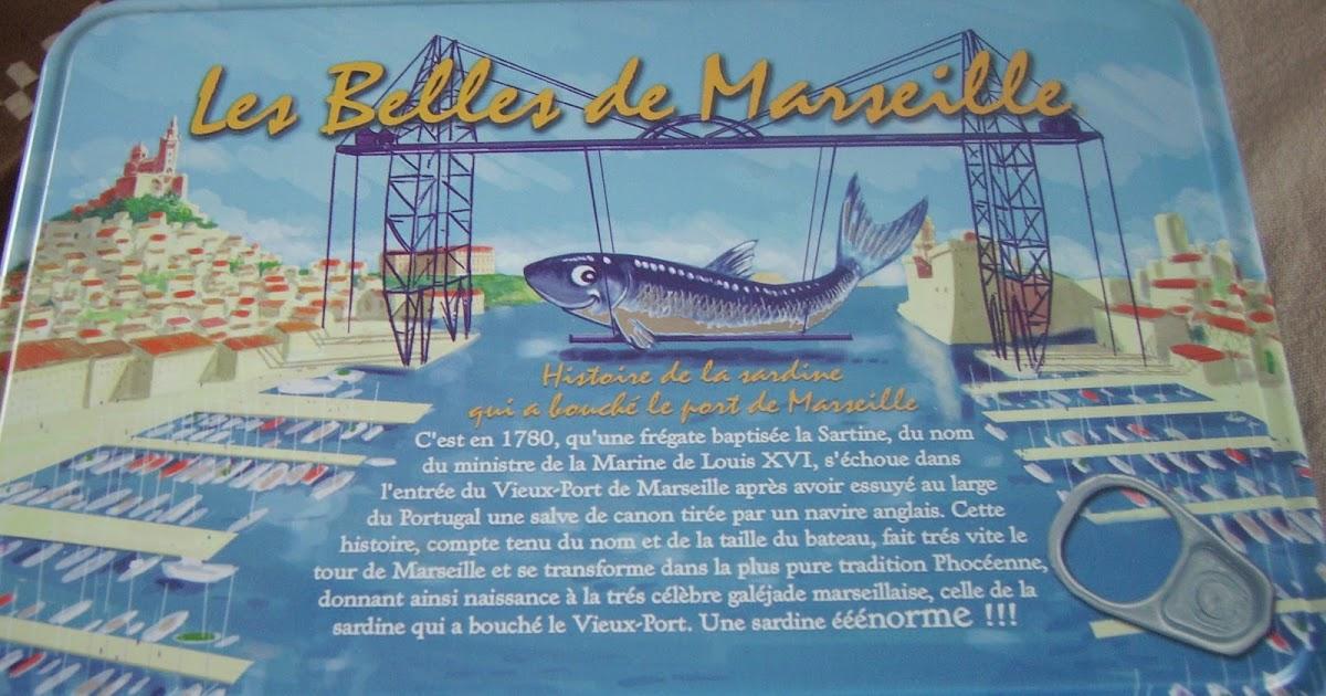 Couleur grenadine rillettes de sardines maison - Sardine port de marseille ...