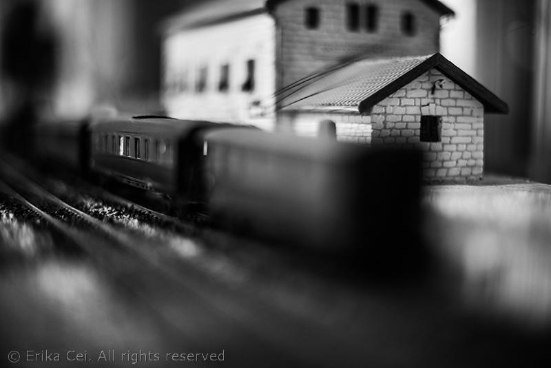 Stazione di Campo Marzio Trieste modellino treno stazione