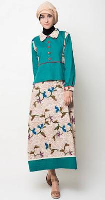 Foto Baju Muslim Gamis Lebaran Untuk Remaja