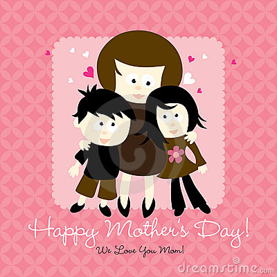 happy mothers day cards for kids. happy mothers day cards for