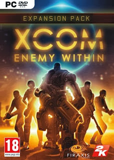 DVD PC Games XCOM Enemy Within                Full