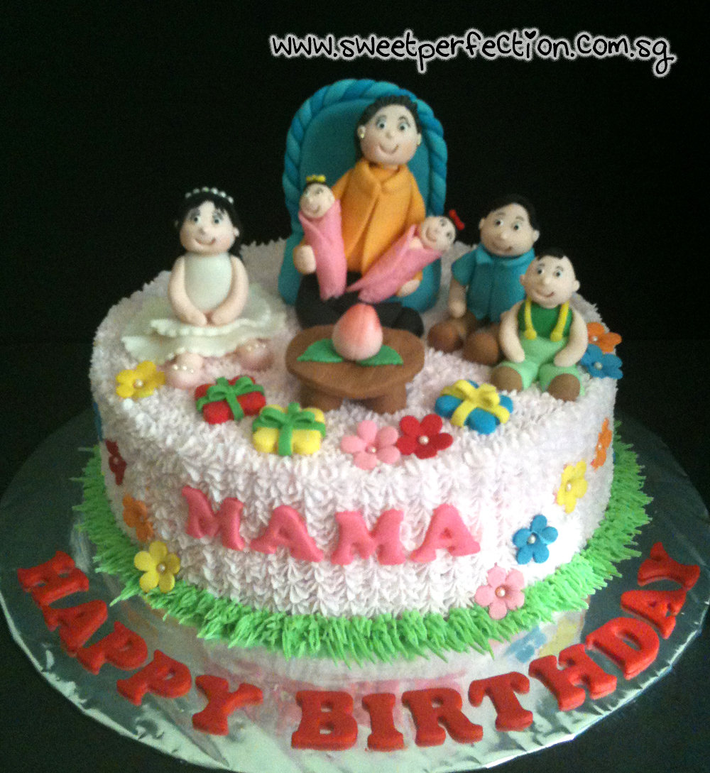Birthday Cake Pictures For Mama : Sweet Perfection Cakes Gallery: Code Family 03 - Happy ...
