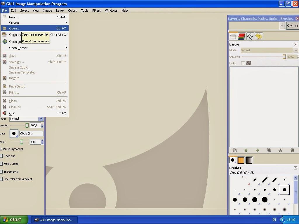 Membuat Gambar Effect Selective Color Dengan GIMP 1