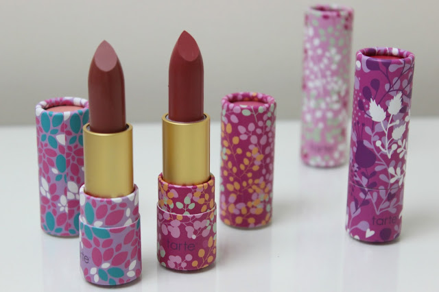 A picture of tarte Amazonian Butter Lipstick in Topaz and Quartz