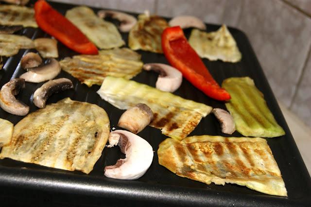 warzywa z grilla elektrycznego