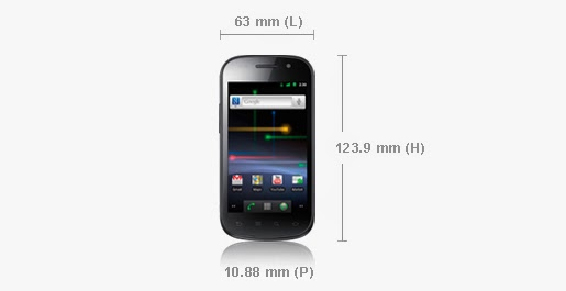 Smartphone Samsung Nexus S Super LCD - Smartphone 4 Pouces