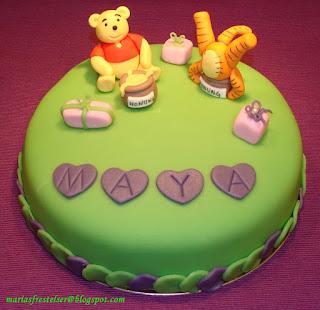Nalle Puh tårta