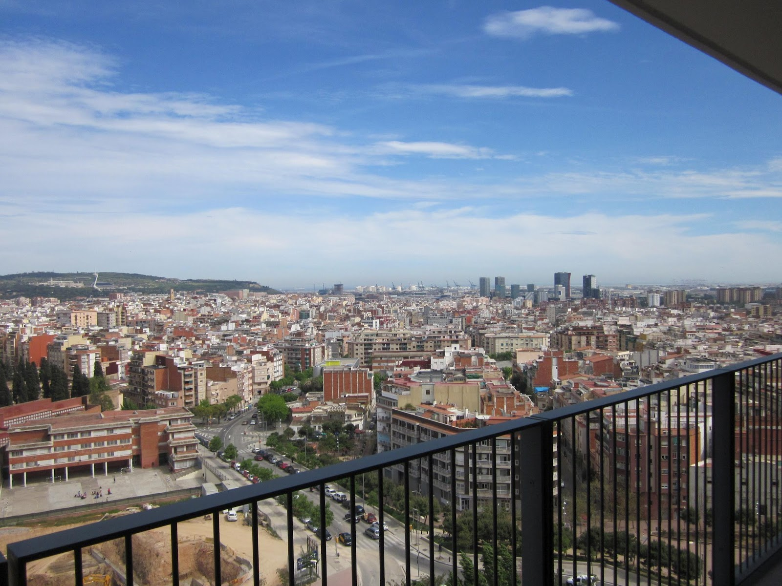 Piso de alquiler en barcelona vistas desde el piso de - Piso particular en alquiler barcelona ...