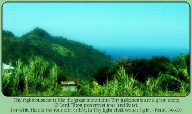 Psalm 36:6,9