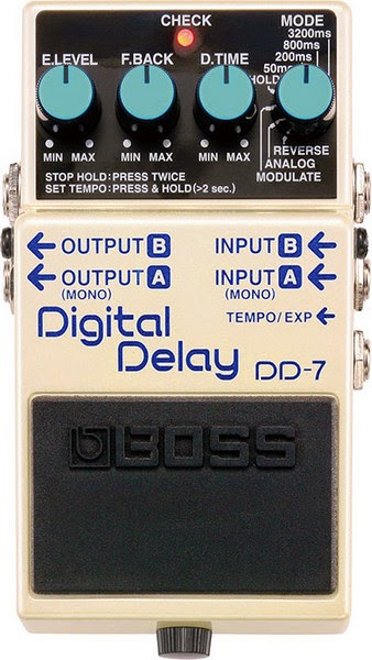 Boss DD-7 Delay Effect Pedal