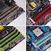 تعرف على سر الالوان الموجودة في أماكن تركيب RAM في لوحات الام .لماذا هي مختلفة ،وما دلالتها؟