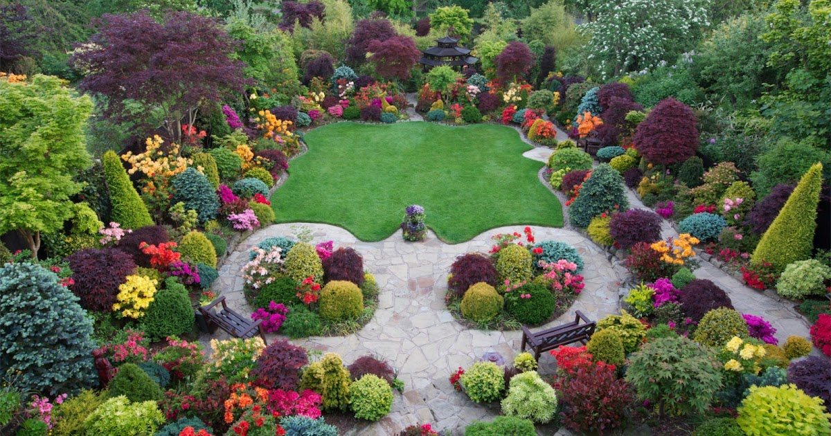 Beautiful Flower Gardens Of The World beautiful home flower gardens images