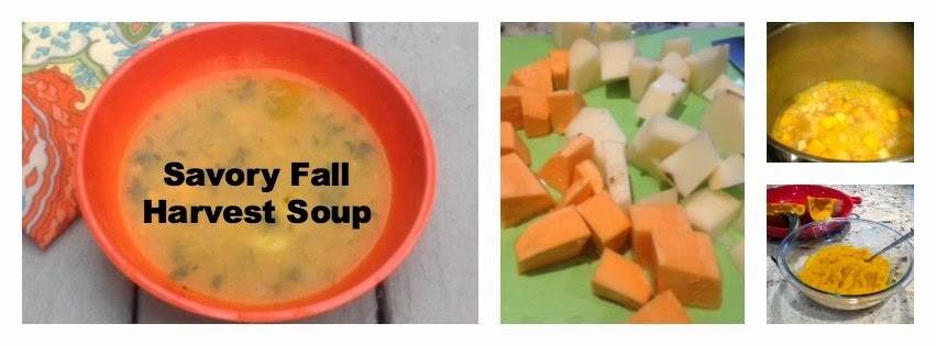 savory fall harvest soup with pumpkin