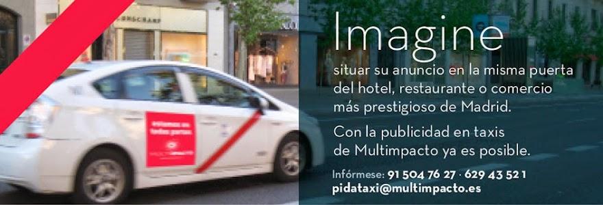 Publicidad en Taxis Multimpacto