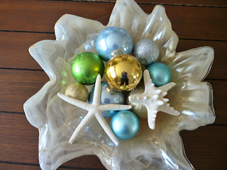 Beach Christmas decor decorations