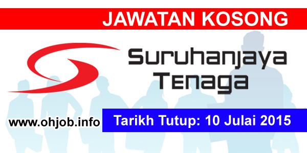 Jawatan Kerja Kosong Suruhanjaya Tenaga (ST) logo www.ohjob.info julai 2015