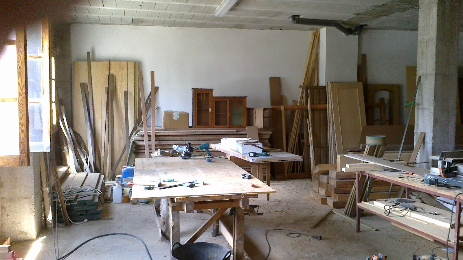 Carpinteria de madera jorge molina mesa de trabajo for Carpinteria de madera