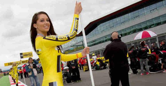 Photo Paddock Girl Di MotoGP Hertz British Grand Prix 2012