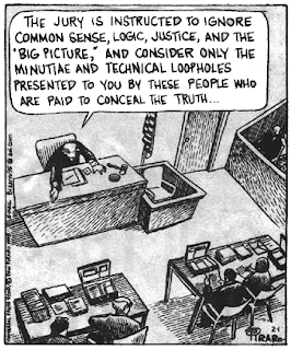 it's a legal system... not a justice system