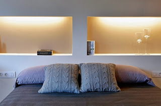 Hollow bed headboards
