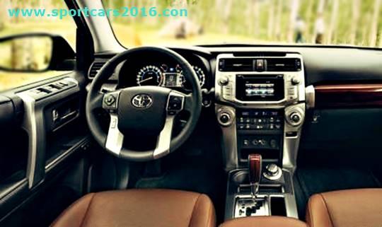 2017 Toyota Hilux Interior