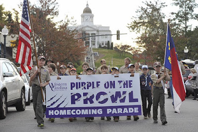 WCU Homecoming Parade 2015