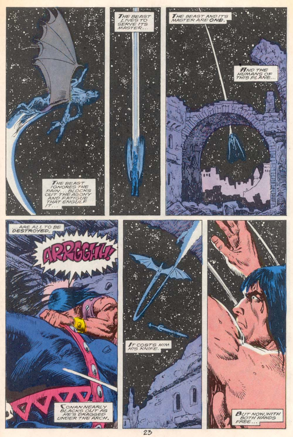 Conan the Barbarian (1970) Issue #209 #221 - English 18