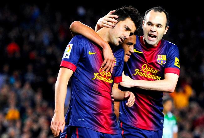 Barcelona Vs Real Betis Full Match Video 5-5-13