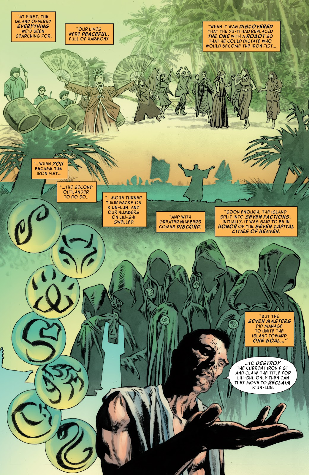Iron Fist (2017) Issue #4 #4 - English 10